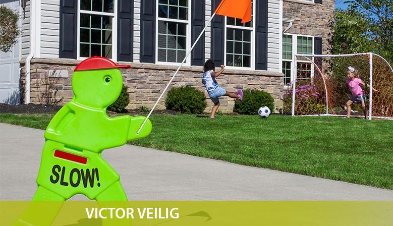 Victor Veilig 'The Original' helpt bij de veiligheid van uw spelende kinderen.